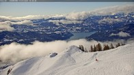 Archived image Webcam Mountain station of the Chabrières chair lift 04:00
