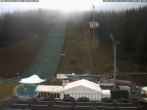 Archiv Foto Webcam Skisprunganlage Vogtland Arena 04:00