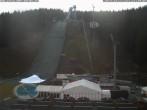 Archiv Foto Webcam Skisprunganlage Vogtland Arena 06:00