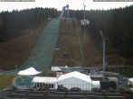 Archiv Foto Webcam Skisprunganlage Vogtland Arena 08:00