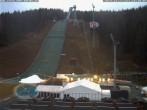 Archiv Foto Webcam Skisprunganlage Vogtland Arena 10:00