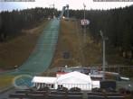 Archiv Foto Webcam Klingenthal: Skisprunganlage Vogtland Arena 03:00