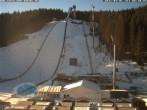 Archiv Foto Webcam Klingenthal: Skisprunganlage Vogtland Arena 02:00