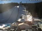 Archiv Foto Webcam Klingenthal: Skisprunganlage Vogtland Arena 04:00