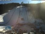 Archiv Foto Webcam Klingenthal: Skisprunganlage Vogtland Arena 08:00