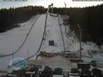 Archiv Foto Webcam Klingenthal: Skisprunganlage Vogtland Arena 10:00