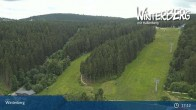 Archived image Webcam View St Georg Ski Jump in Winterberg 11:00