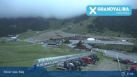 Archiv Foto Webcam Grandvalira: Pic de Cubil (Grau Roig) 19:00