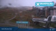 Archiv Foto Webcam Grandvalira: Talstation Pas de la Casa 19:00