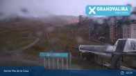 Archiv Foto Webcam Grandvalira: Talstation Pas de la Casa 01:00