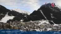 Archiv Foto Webcam Blick von Ischgl auf die umliegende Bergwelt 19:00