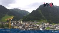 Archiv Foto Webcam Blick von Ischgl auf die umliegende Bergwelt 03:00