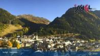 Archiv Foto Webcam Blick von Ischgl auf die umliegende Bergwelt 23:00