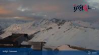 Archiv Foto Webcam Ischgl - Palinkopf (2.864 m) 18:00