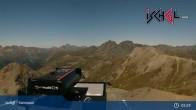 Archiv Foto Webcam Ischgl - Palinkopf (2.864 m) 23:00