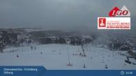 Archiv Foto Webcam Oberwiesenthal - Fichtelberg Skihang 03:00