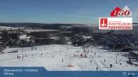 Archiv Foto Webcam Oberwiesenthal - Fichtelberg Skihang 11:00