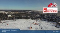 Archiv Foto Webcam Oberwiesenthal - Fichtelberg Skihang 13:00
