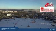 Archiv Foto Webcam Oberwiesenthal - Fichtelberg Skihang 15:00