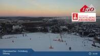 Archiv Foto Webcam Oberwiesenthal - Fichtelberg Skihang 17:00