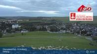 Archiv Foto Webcam Oberwiesenthal - Fichtelberg Skihang 21:00