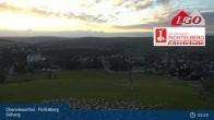 Archiv Foto Webcam Oberwiesenthal - Fichtelberg Skihang 23:00
