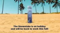Schneehöhenanzeige Mt Bachelor