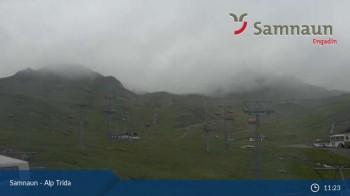Alp Trida towards Viderjoch