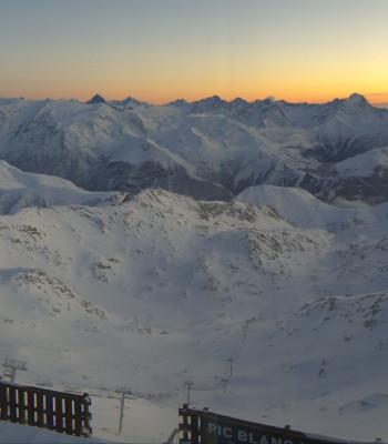 Alpe d'Huez - Bergstation Pic Blanc