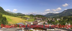 Alpine Resort Fieberbrunn: Panorama of the village