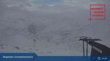 Andermatt - Webcam Schneehüenerstock