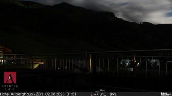 Arlberghaus Zürs - SnowCam