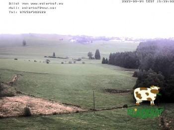 Ausblick vom Eckerhof im Hinterdorf nach Breitnau