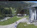 "base station gondola, ski resort ""Gargellen"""