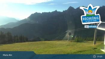 Hochkönig Maria Alm: Bergstation Hochmaisalm