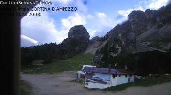 Cortina d'Ampezzo: Weltcup-Piste Olympia delle Tofana