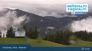 Reiteralm: Bergstation 6er-Sesselbahn