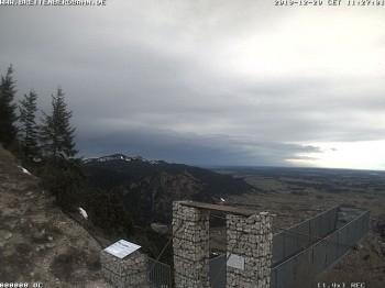 Bergstation Breitenberg: Aussichtssteg