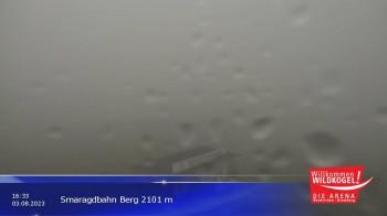 Wildkogel-Arena: Bergstation der Smaragdbahn