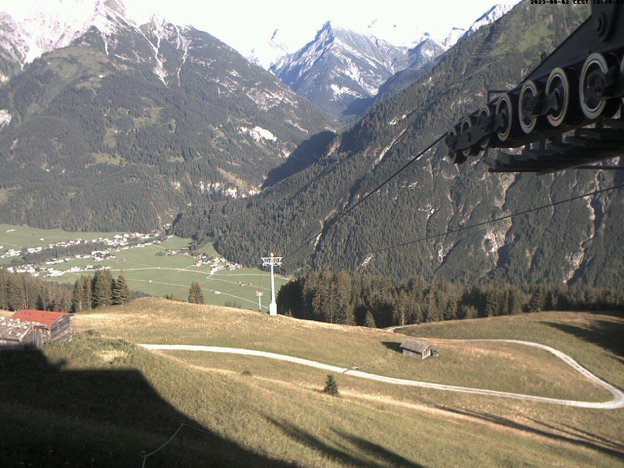 Bergstation Jöchelspitzbahn