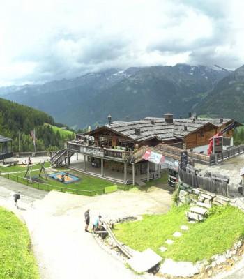 Bergstation Klausberg - Blick auf Kristallalm im Ahrntal (Südtirol)