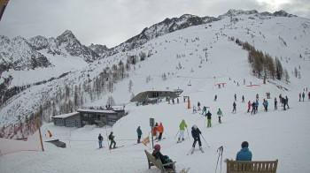 Bergstation Longnan Gondel