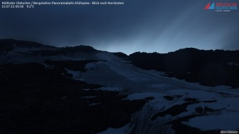 Mölltaler Gletscher: Bergstation Panoramabahn Klühspies