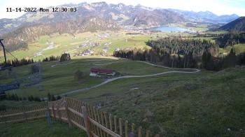 Zahmer Kaiser: Bergstation Richtung Walchsee