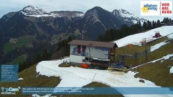 Sonntag: Bergstation Pendelbahn