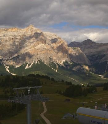Alta Badia: Ausblick von der Bioch Hütte