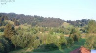 Oberstaufen: Biohotel Schratt - Blick zur Imbergbahn