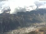 Blick auf Chamonix