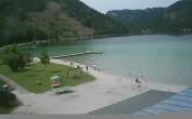 Blick auf den Erlaufsee bei Mariazell