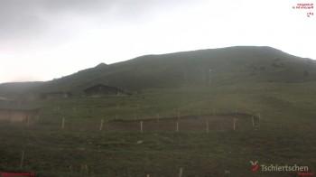 Blick auf den Schlepplift der Tschiertschen Bergbahnen